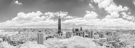 Taipei cityscape Stock Images