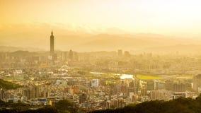 Taipei Cityscape stock footage