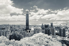 Taipei cityscape Royalty Free Stock Images