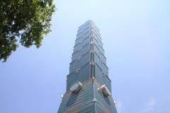 Taipei 101, construção alta da elevação em Taipei, Taiwan, ROC Fotografia de Stock