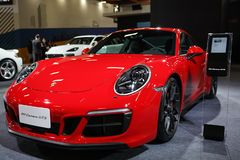 Porsche 911 Carrera GTS 2019 royalty free stock photography