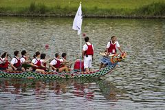 2013 Taipei Dragon Boat festival Royalty Free Stock Images