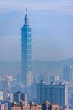 Taipei 101, el edificio más alto de Taiwán Imagen de archivo