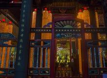 Taipei Longshan temple Royalty Free Stock Photo
