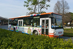 The Taipei Flora BUS Stock Photo