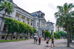 Taipei gästhem i öppet Royaltyfri Fotografi
