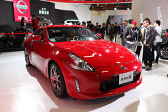 TAIPEI - 3 gennaio: Automobile sportiva di NISSAN 370Z indicata a Taipei Fotografia Stock Libera da Diritti