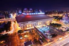 Taipei-Hauptanschluss Stockbild