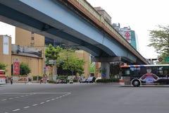Taipei highway bridge Stock Photography