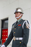 Taipei honor guard standing guard Royalty Free Stock Images