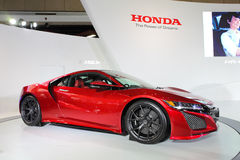 Honda NSX. TAIPEI - Jan 3: Honda NSX shown at Taipei International Auto Show Jan 3, 2016 in Taipei, Taiwan stock photos