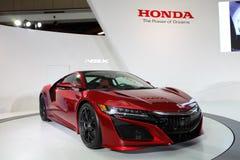 TAIPEI - Januari 3: Honda NSX som visas på Taipei den internationella auto showen royaltyfria bilder