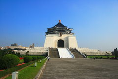 Taipei Liberty Square and CKS memorial hall Royalty Free Stock Photography