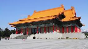 Taipei Liberty Square National Music Hall.HD stock video