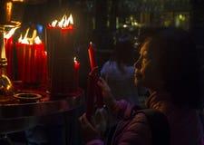 Taipei Longshan temple Stock Image