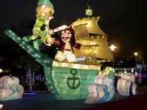 Taipei lyktafestival 2014 Arkivbilder