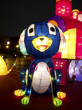 Taipei lyktafestival 2014 Arkivfoton