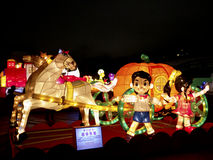 Taipei lyktafestival 2014 Royaltyfri Fotografi