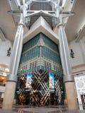 Interior view of the famous Taipei 101. Taipei, MAY 22: Interior view of the famous Taipei 101 on MAY 22, 2018 at Taipei, Taiwan Stock Photos