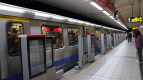 Taipei Metro Station.HD stock video footage