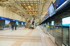 Taipei MRT Platform Royalty Free Stock Photography