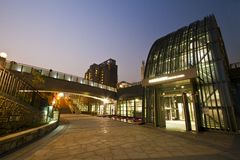 Taipei MRT station (Daan Park Station) Stock Image