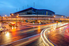 Taipei Nangang Exhibition Center Station Royalty Free Stock Photography
