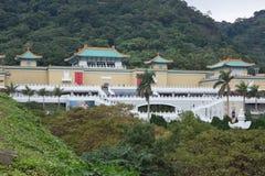 Taipei-nationales Palast-Museum Stockfotografie
