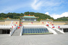 Taipei Palace Museum. National Palace Museum in Taipei, Taiwan, October 27th, 2013 royalty free stock photos