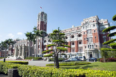 Taipei President Palace Royalty Free Stock Photo