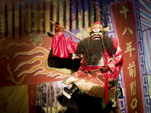 Taipei, puppetry da luva Foto de Stock