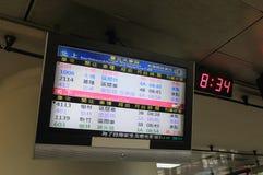 Taipei railway train station Taiwan Stock Photography