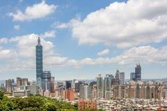 Taipei scenery Stock Image
