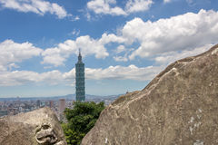 Taipei scenery Royalty Free Stock Images