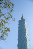 Taipei 101, señal de Taipei, Taiwán Fotos de archivo