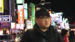 Taipei Shilin Night Market.HD stock footage