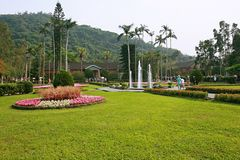 Shilin official residence Park royalty free stock photo