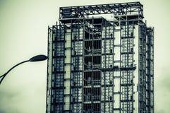 Taipei som klargör och bygger Arkivfoton