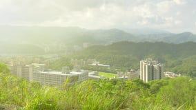 Taipei stadshorisont arkivfoton