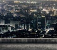 Taipei stadsnatt royaltyfria bilder