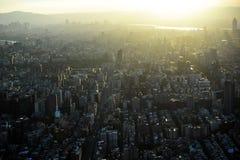 Taipei-Stadt Stockfotografie