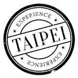 Taipei stap rubber grunge Royalty Free Stock Image