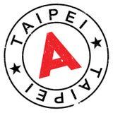 Taipei stap rubber grunge Royalty Free Stock Photo
