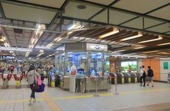 Taipei subway underground metro station Taiwan Stock Image