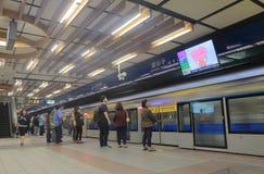 Taipei subway underground metro station Taiwan Stock Images