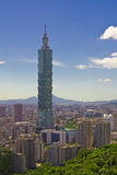 Taipei-Szene stockfotos