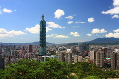 Taipei-Szene lizenzfreie stockfotos