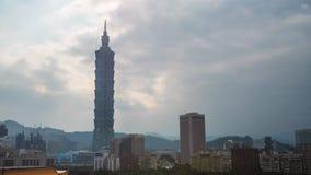 Taipei Taiwán almacen de video
