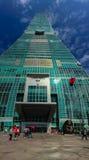 Taipei, Taiwán - 22 de noviembre de 2015: Torre de Taipei 101, visión desde Imagenes de archivo