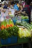 Taipei, Taiwán, mercados tradicionales, mercados centrales, verduras, productos de carne, mercados al por mayor, imagenes de archivo